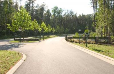 James City County District Park Entrance Road